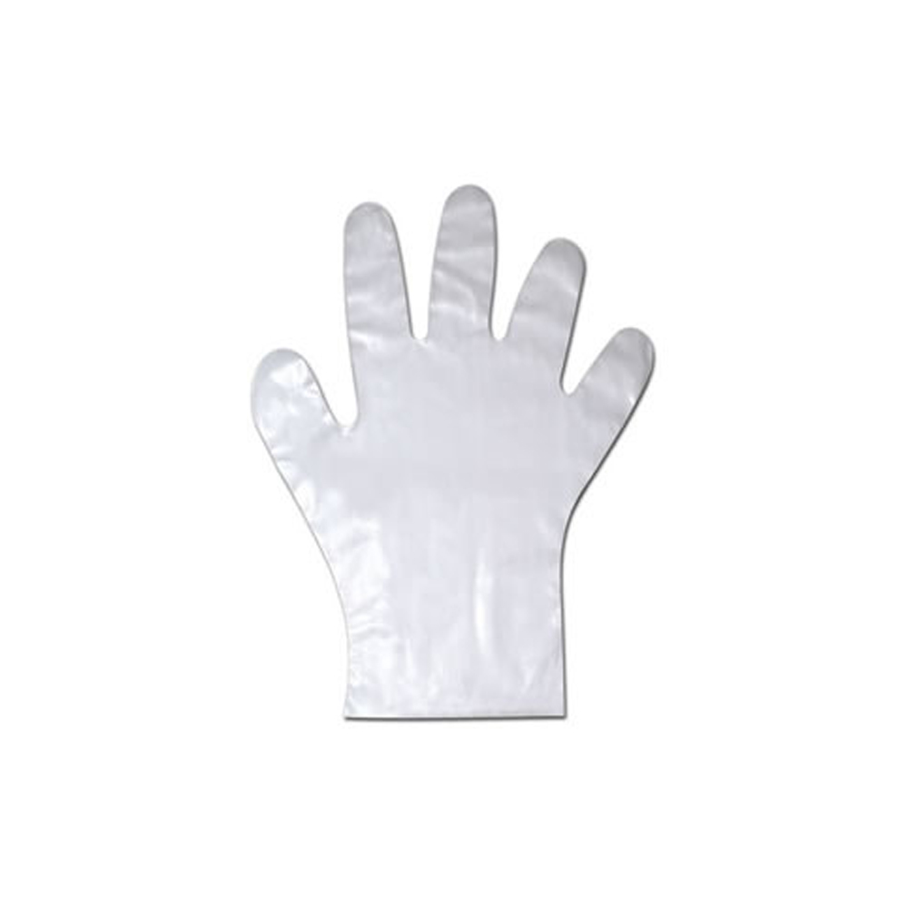 NPPC - Small Clear Cast Poly Gloves 01845