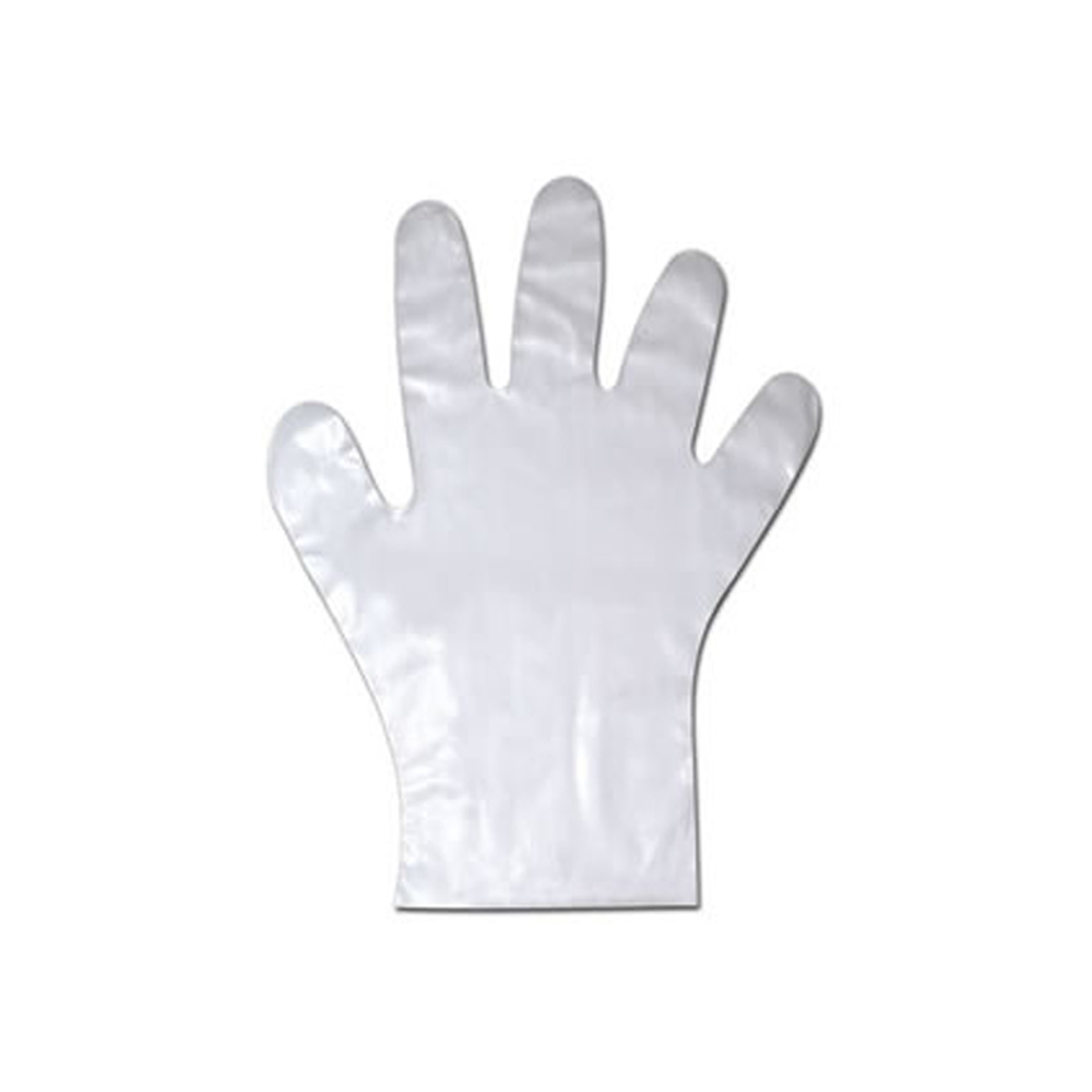 NPPC - Large Clear Cast Poly Gloves 01847