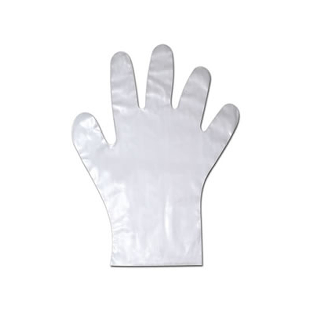 NPPC - Extra Clear Large Cast Poly Gloves 01848