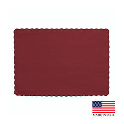 "Superior Laminators Inc. - Burgundy 10""x14"" PlacematPM3007"