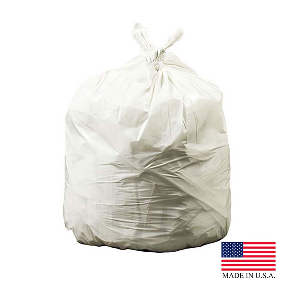 "Revolution Bag Natural 40-45 Gallon 40""x46'       Plastic Can Liner On A Roll PC46HRN"