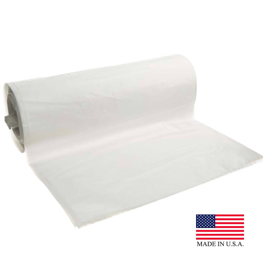 "Revolution Bag Natural 43""x47' 1.75 Mil Can Liner On A Roll PC47200N"