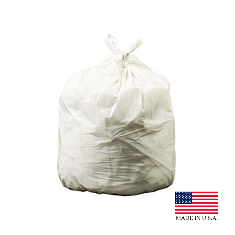 "Revolution Bag Natural 38""x58' 1.15 Mil Can Liner On A Roll PC58XPN"
