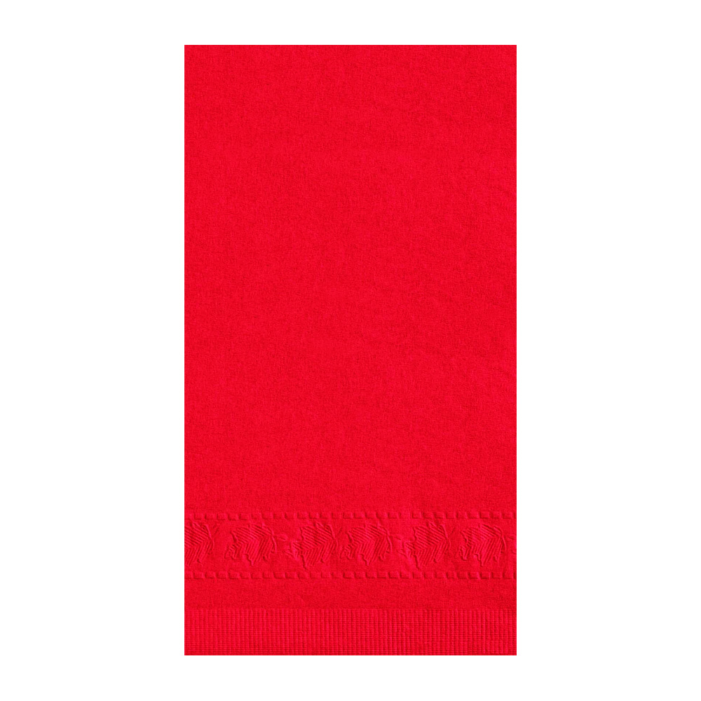 "Hoffmaster - Red 15""x17"" 2 ply Paper Dinner Napkin 180511"