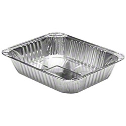 Quality Collection - Aluminum 1/2 Size Deep Oblong Steam Table Pan B6132/2132