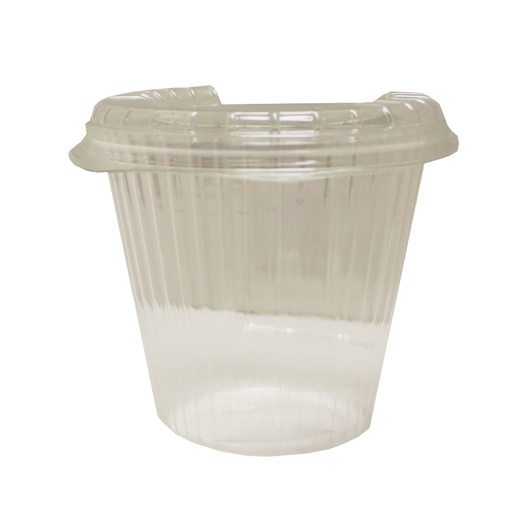 Clear 16oz Plastic Hinged Cup 20893