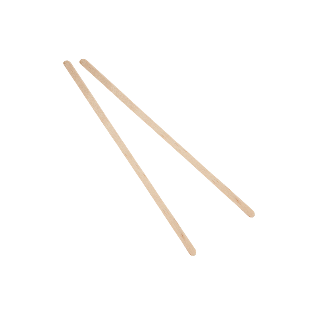 "Icon Global Supply - Wood 7"" Unwrapped Coffee     Stirrer C10C"