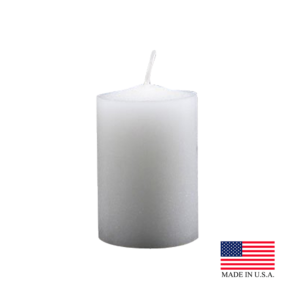 White 15 Hour Votive Candles 515-36-8