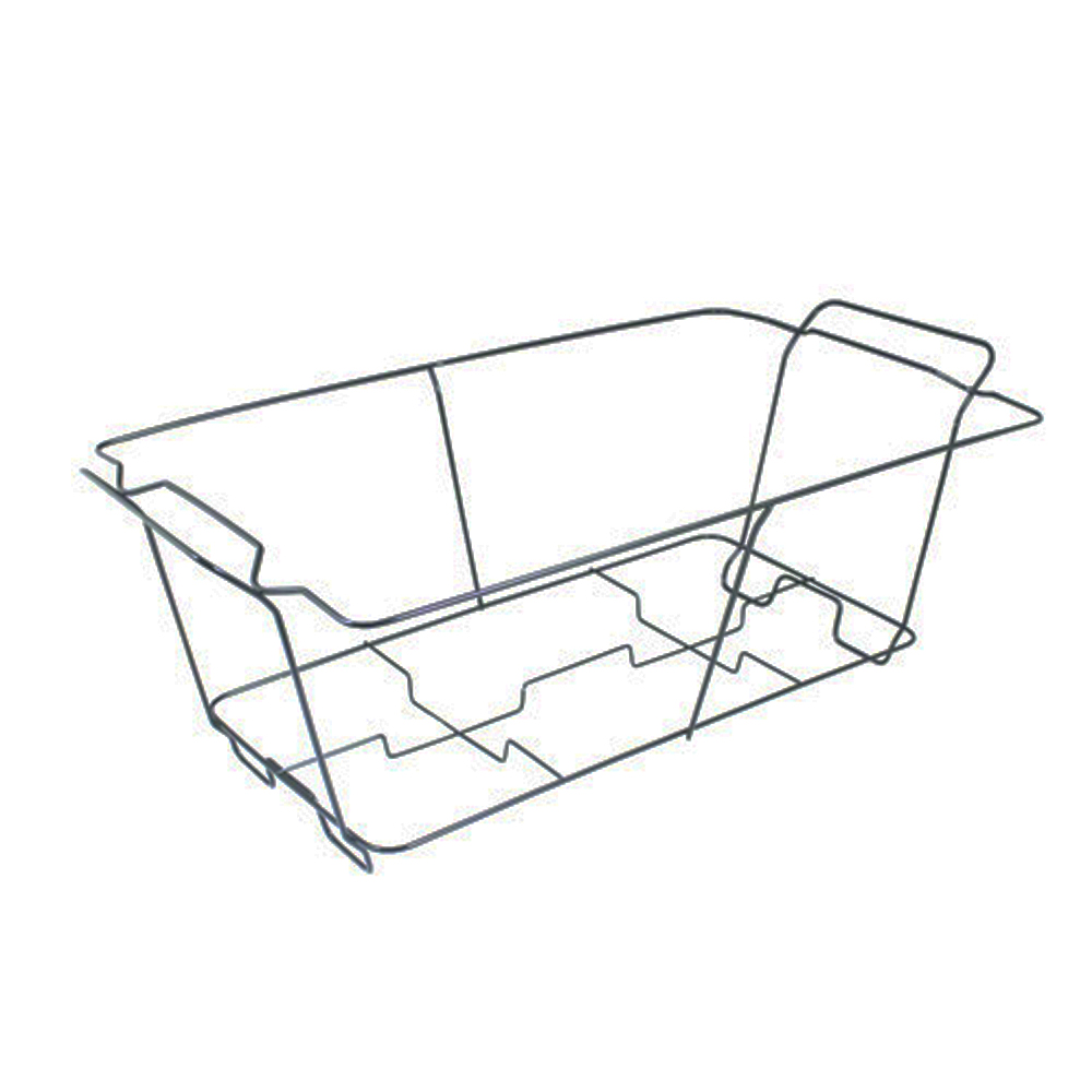 Maryland Plastics Inc. - Kingsmen Black Full      Chafing Wire Rack CRB01121