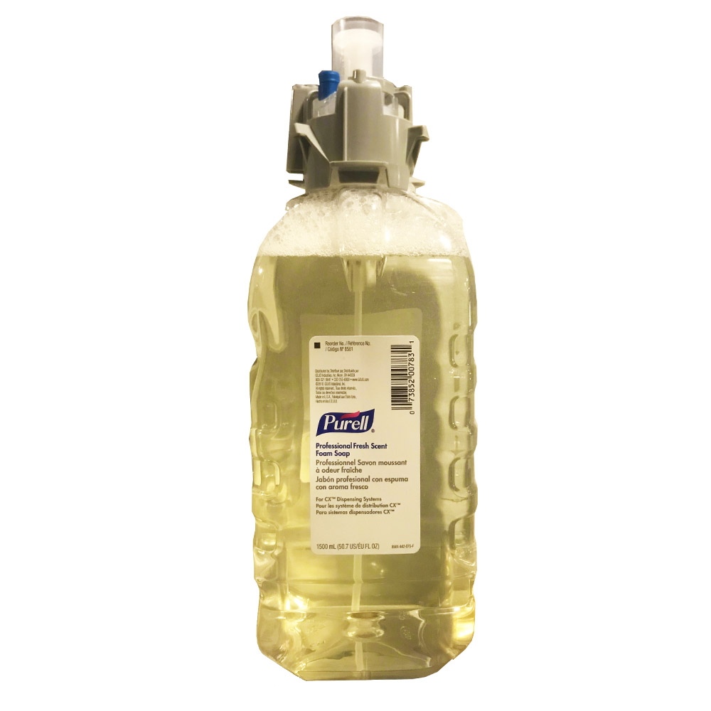 Gojo Ind. - Purell 1500 ml Professional Fresh     Scent Foam Hand Soap For CX Dispensing System