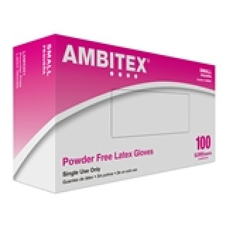 Tradex Intl. - Ambitex Small Powder Free          Latex Disposable Glove LSM5201