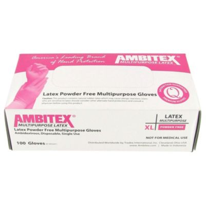 Tradex Intl. - Ambitex Extra Large Powder         Free Latex Gloves LXL52011