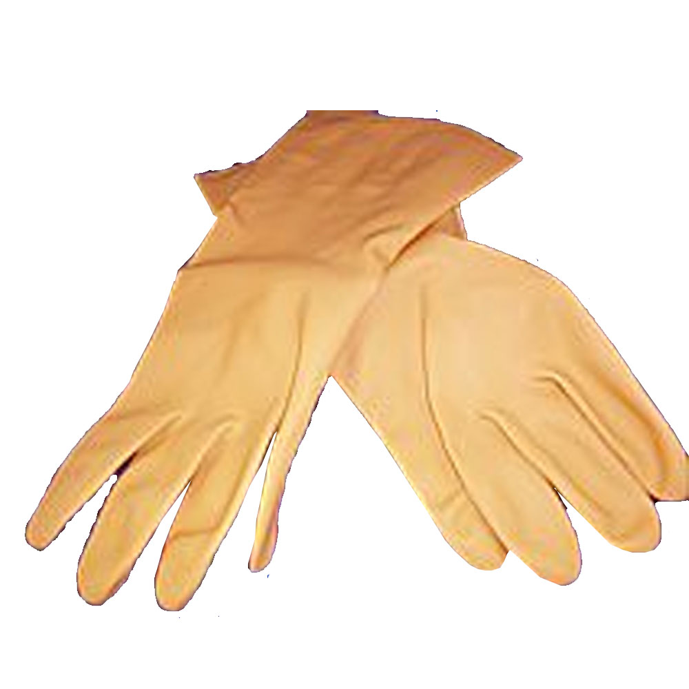 Ball Trading Orange Large Neoprene Latex Blend Glove With Straight Cuff 5430L