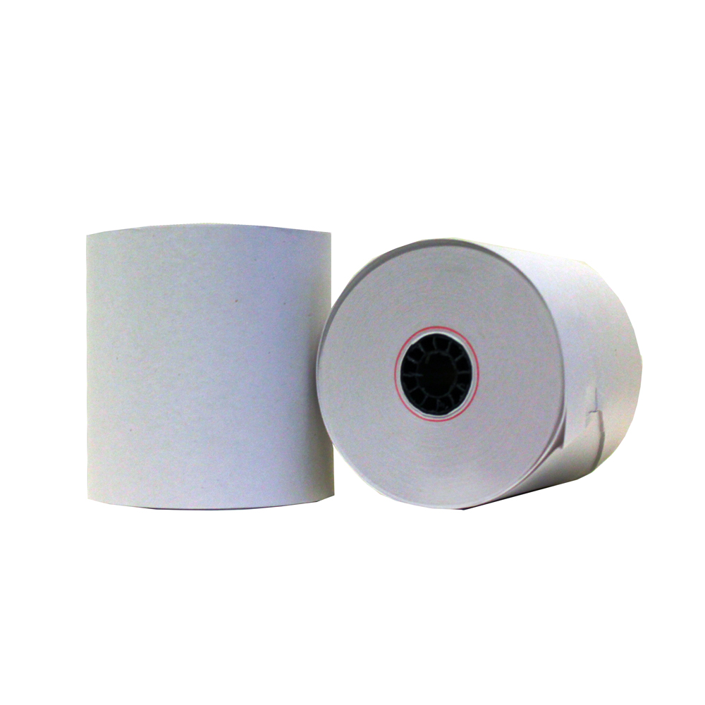 "White 2.25""x150' Thermal Deli Receipt Tape 260297/261297"