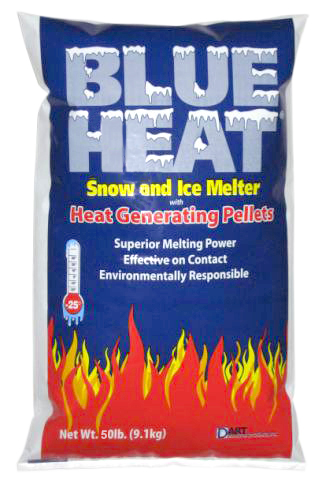Dart 50lb Bag Blue Heat Snow And Ice Melt BH50