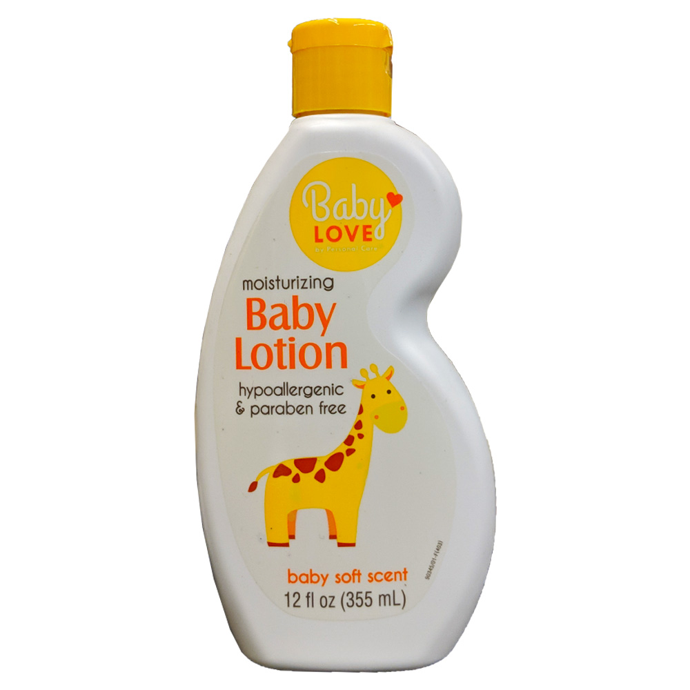 Delta Brands - Baby Love 12 oz. Moisturizing Baby Lotion Baby Soft Scent 90345-12