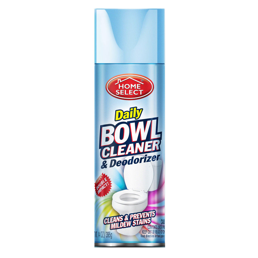 Delta Brands 14oz Home Select Daily Bowl Cleaner & Deodorizer Aerosol 10033-12