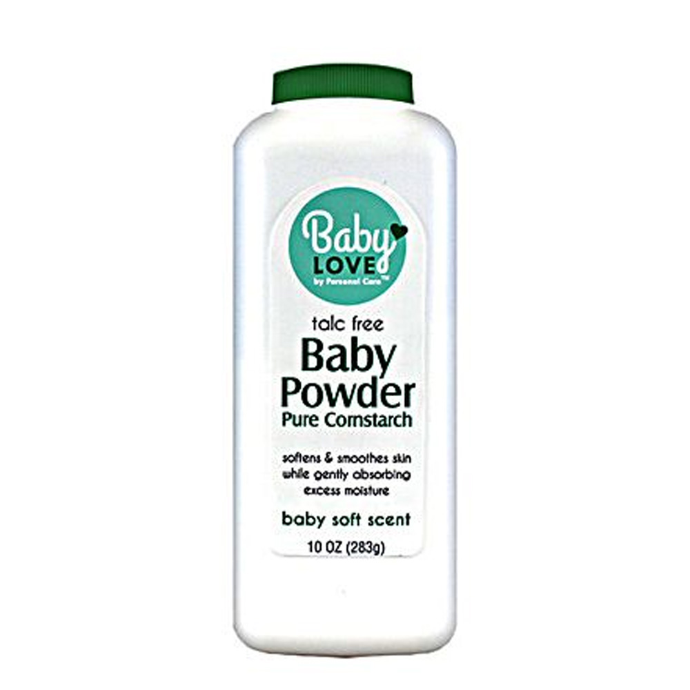 Blue Cross Labs - Baby Days 10 oz. Pure Constarch Soothing Aloe & Vitamin E Baby Powder 636-1