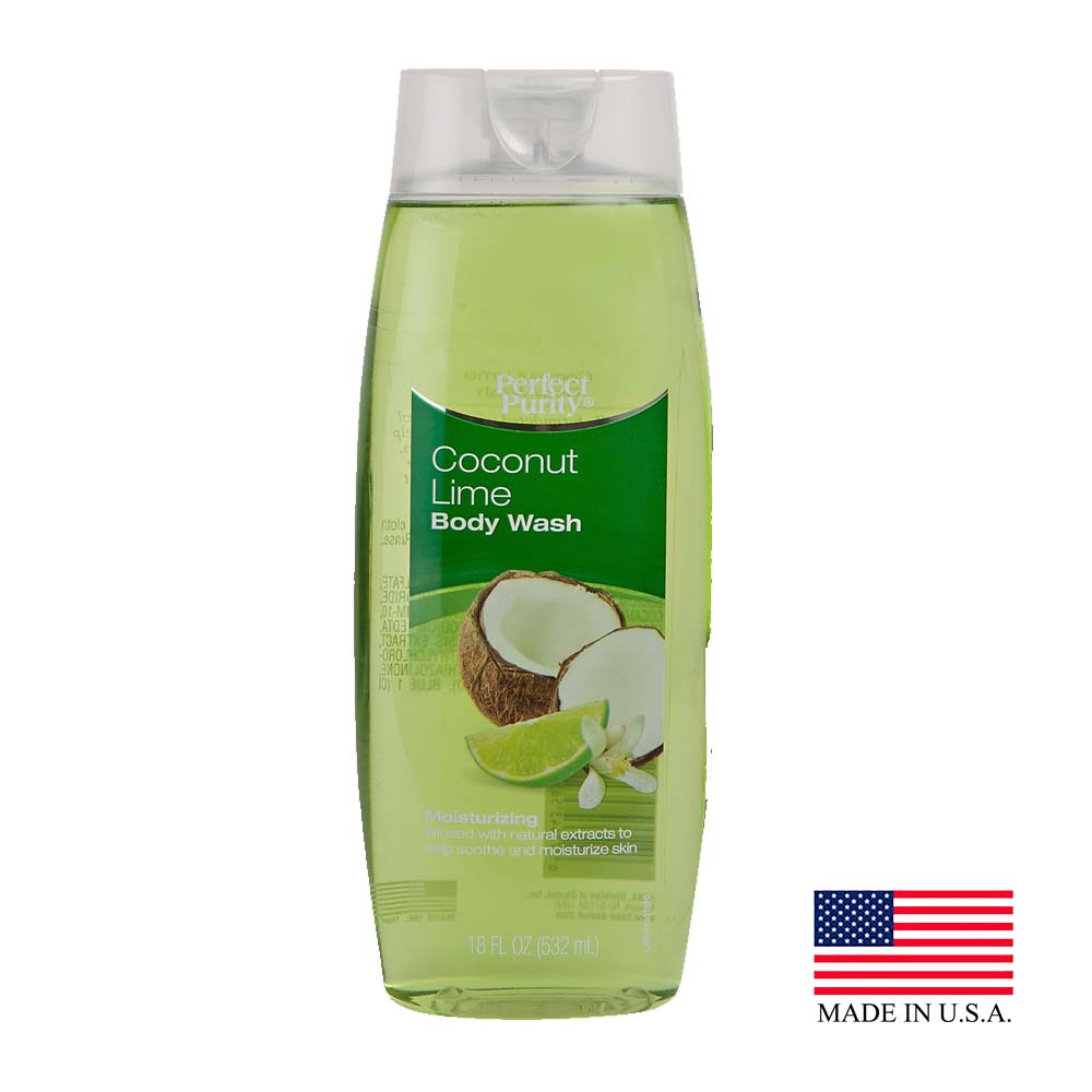 Davion Green 18oz Perfect Purity Coconut Lime Body Wash 56518