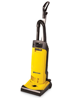 "Tornado Ind Yellow 12"" Single Motor Hepa Filtered Commercial Upright Vacuum 91449"