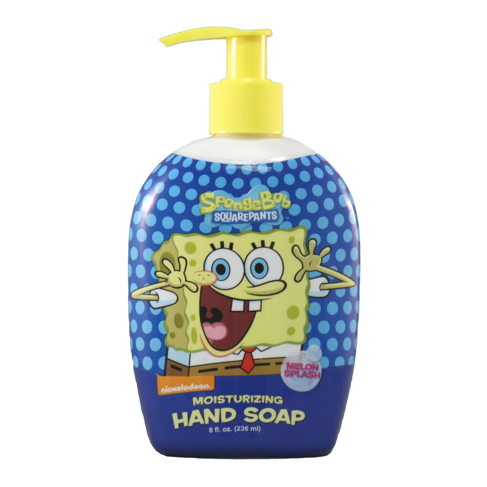 Blue Cross Labs 8oz SpongeBob Melon Splash Pump Hand Soap 648-4