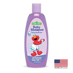 Blue Cross Labs Purple 10oz Sesame Street Calming Lavender Scent Baby Shampoo 704-7