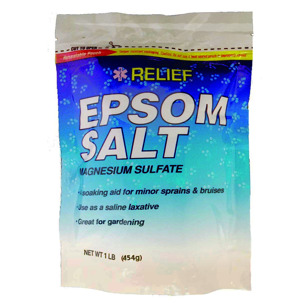 Blue Cross Labs 16oz Relief Epsom Salt Magnesium Sulfate 960-7