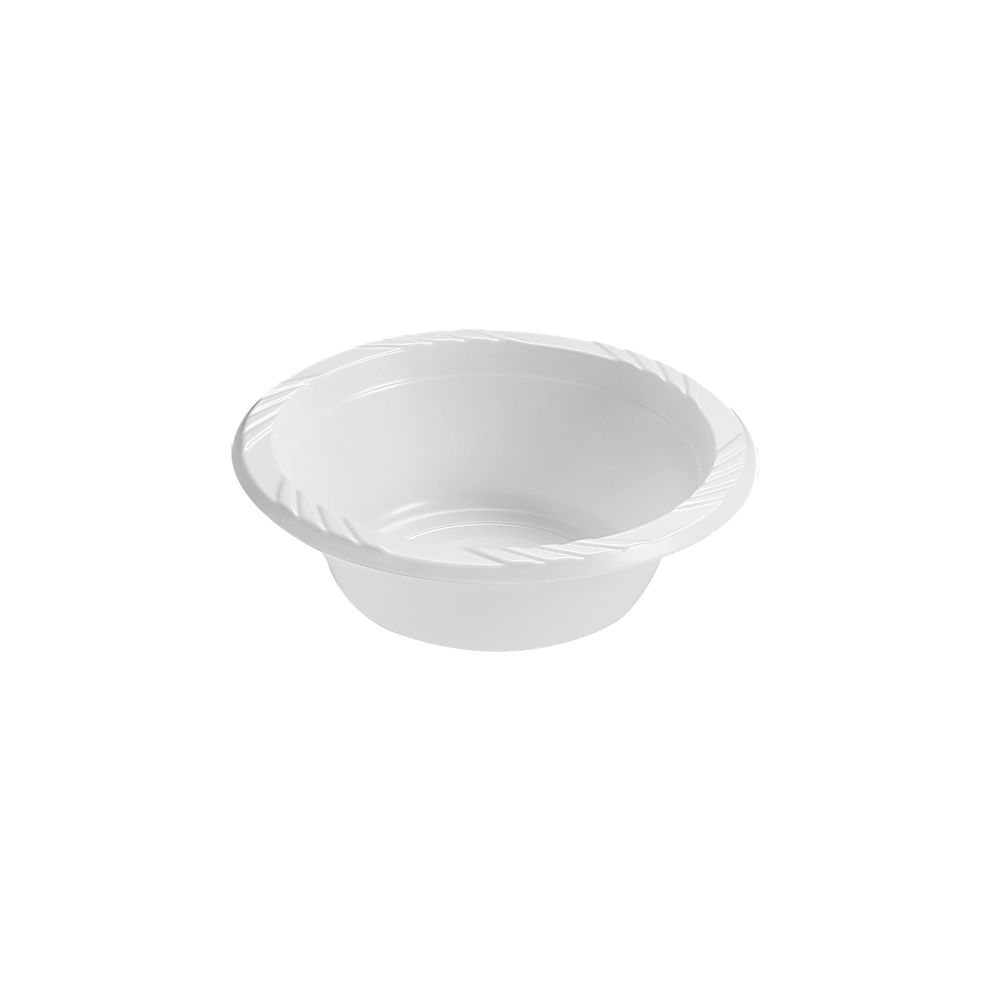 Blue Sky Trading White 5oz Kitchen Selection Soup Bowl 237
