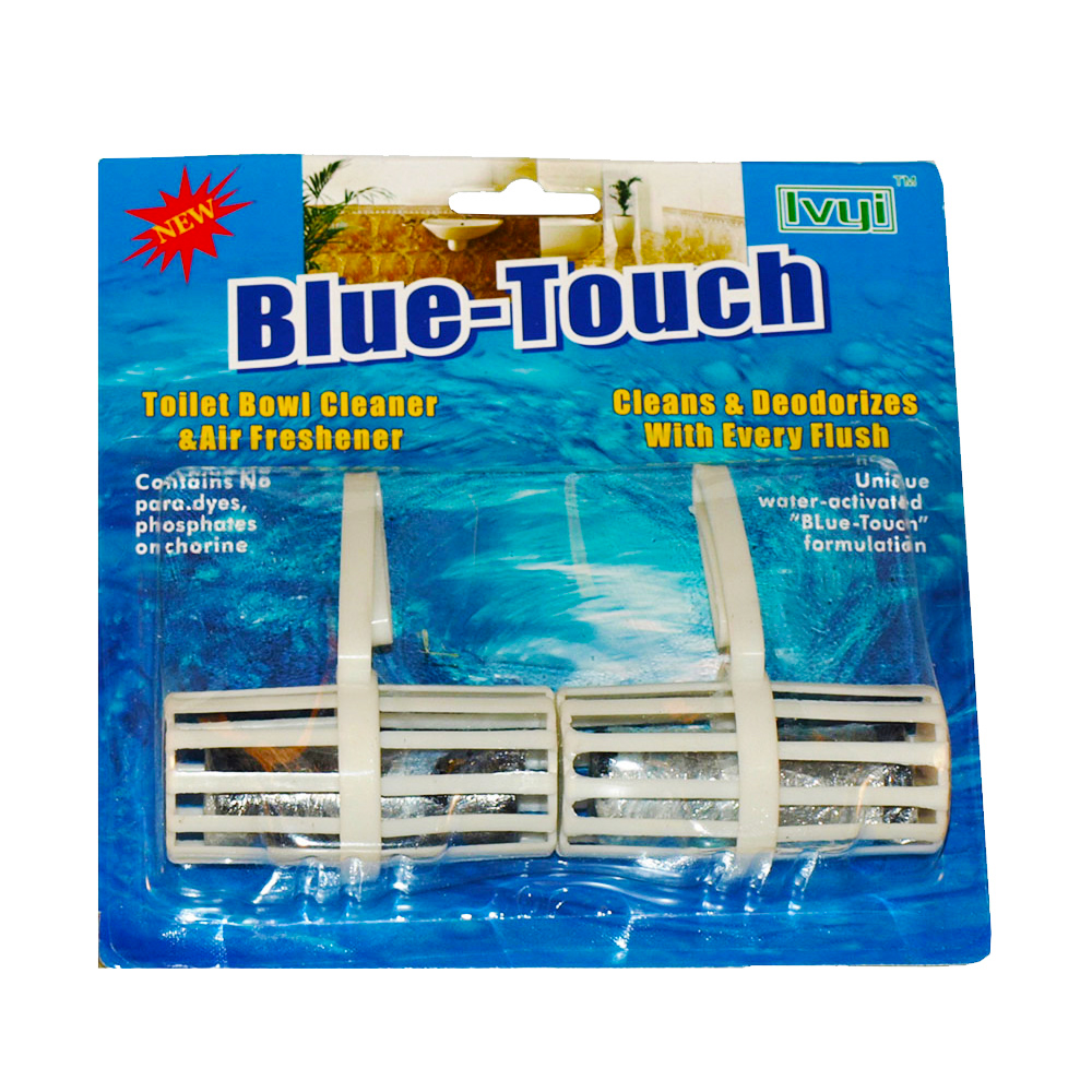 Blue Touch Inc 2 Pack Toilet Bowl Cleaner & Air   Freshener DB027