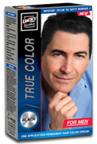 Delta Brands Lucky Super Soft Black Hair Dye For  Men 10286-12