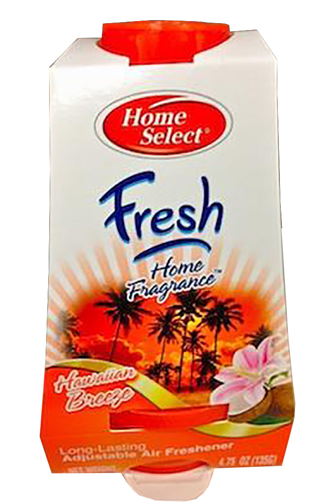 4.75oz Hawaiian Breeze Fragrance Adjustable Solid Gel Air Fresheners 10349