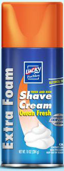Delta Brands 10oz Lucky Super Soft Fresh Shaving  Foam 10138-12