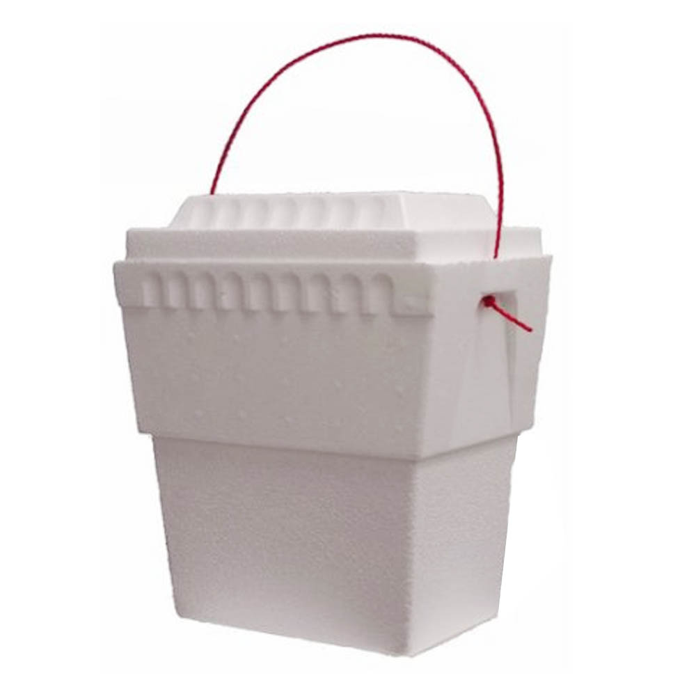 Lifoam Industries - White 12 Qt Double Foam Cooler 3410