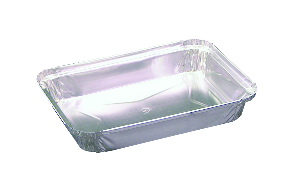 Quality Collection Aluminum 1lb Oblong Pan 400/45-F1