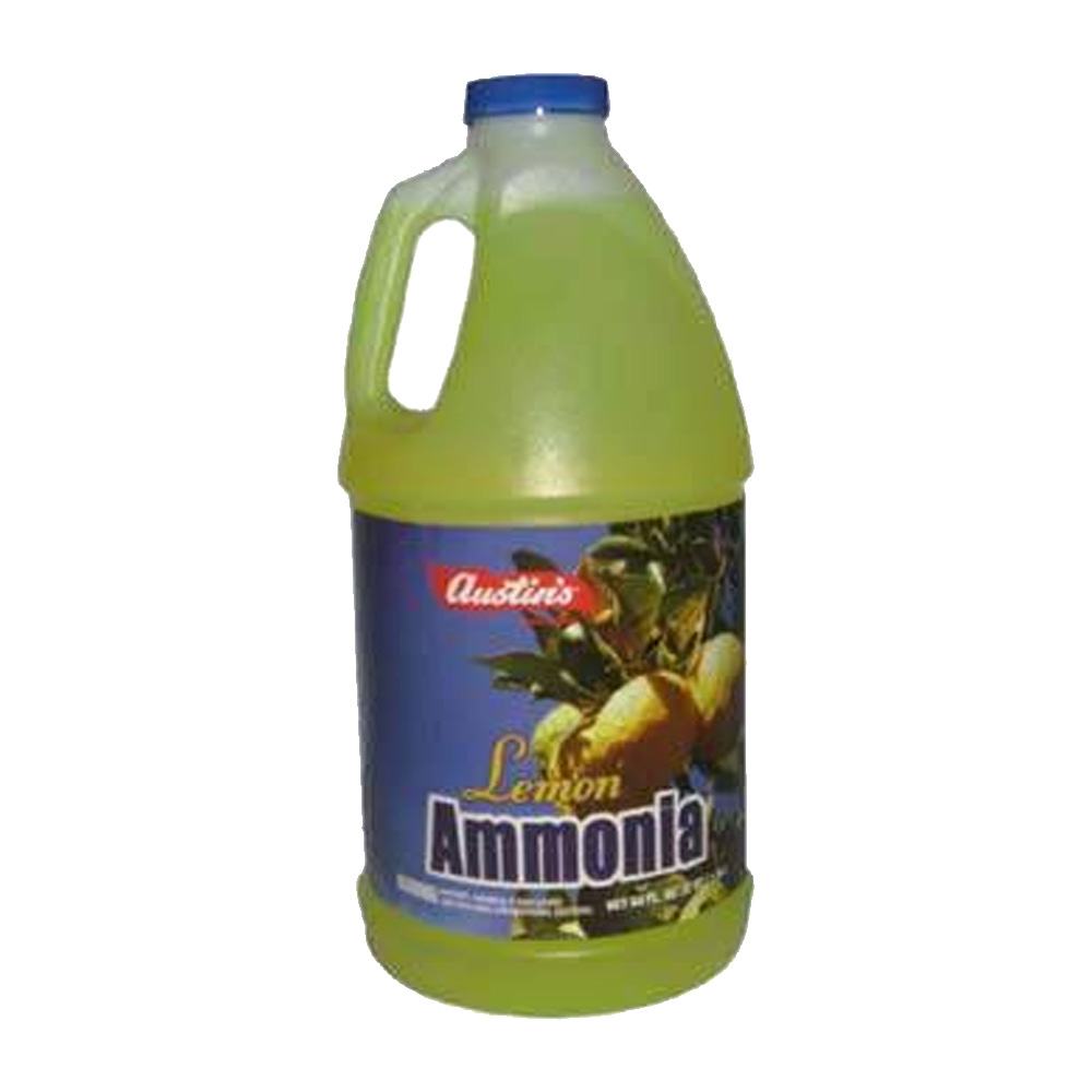 James Austin Yellow 64oz Ammonia Lemon Scent 54200-00046