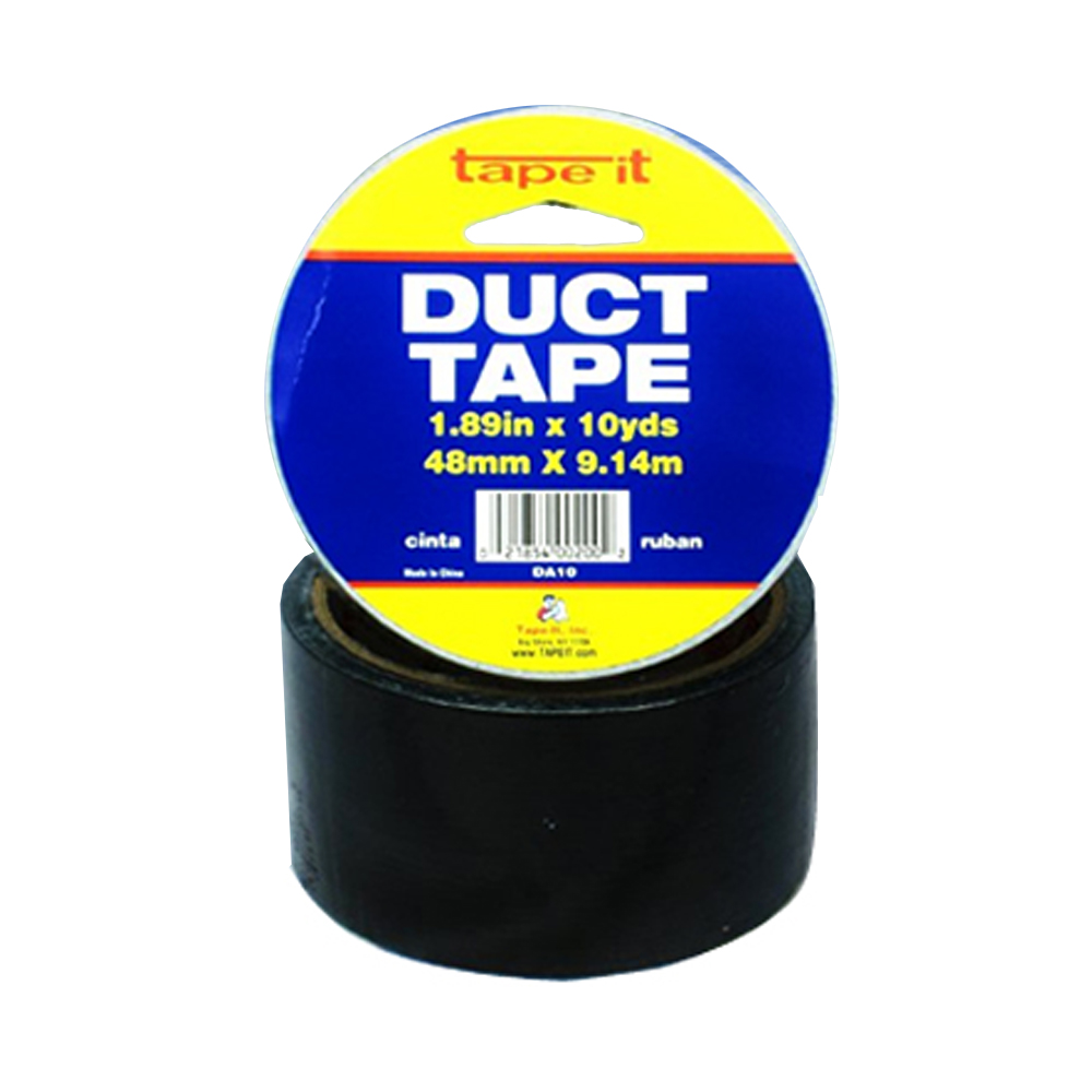 "Tape it Black 2"" 10 Yard Duct Tape D-10B"