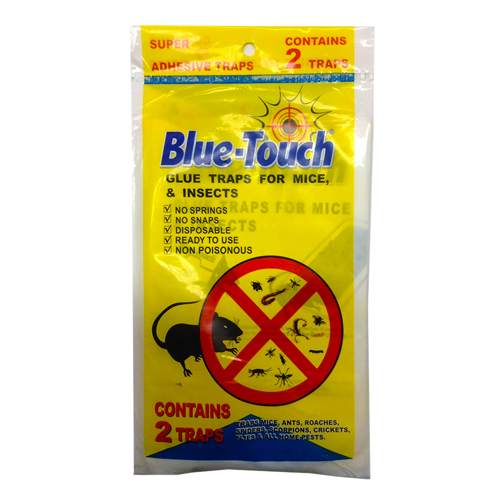 Blue Touch Inc 2 Pack Flat Glue Board 32206