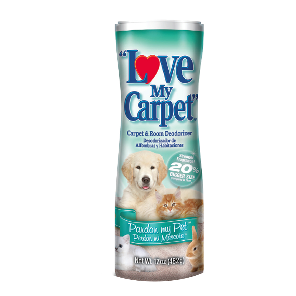 Love My Carpet 14 oz. Powdered Deodorizer Pardon  My Pet Scent LMC739528