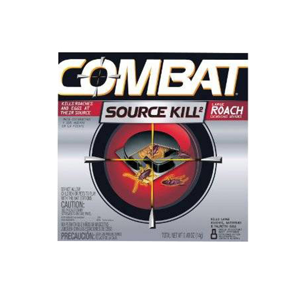 The Dial Corp Large Combat Source Kill 2 Roach Insect Killer 41913