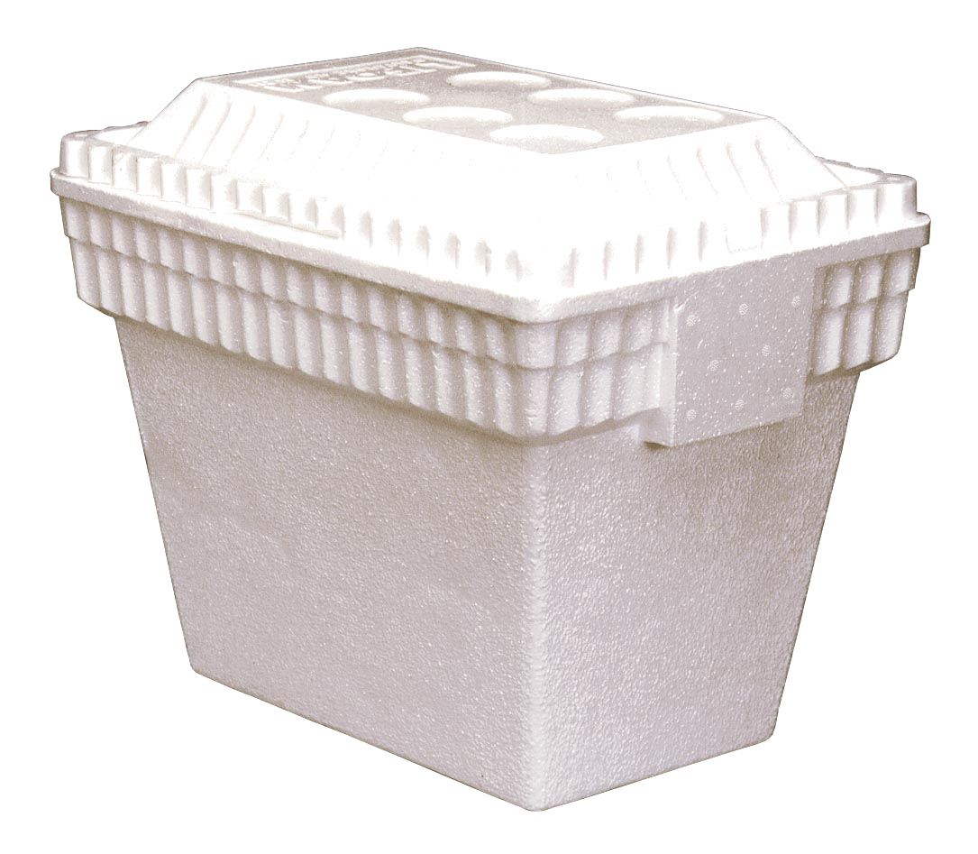Lifoam Industries - White 30 Qt Large Foam Cooler 3542
