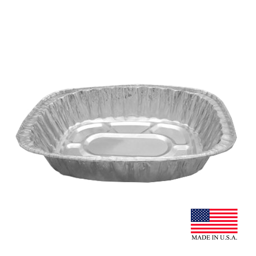 Durable Aluminum Large Oval Roaster Pan 4001-100ZZ/3500