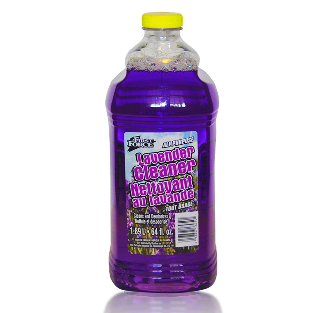 Basic Packaging Purple 64oz First Force All Purpose Lavender Cleaner Refill 18950-1