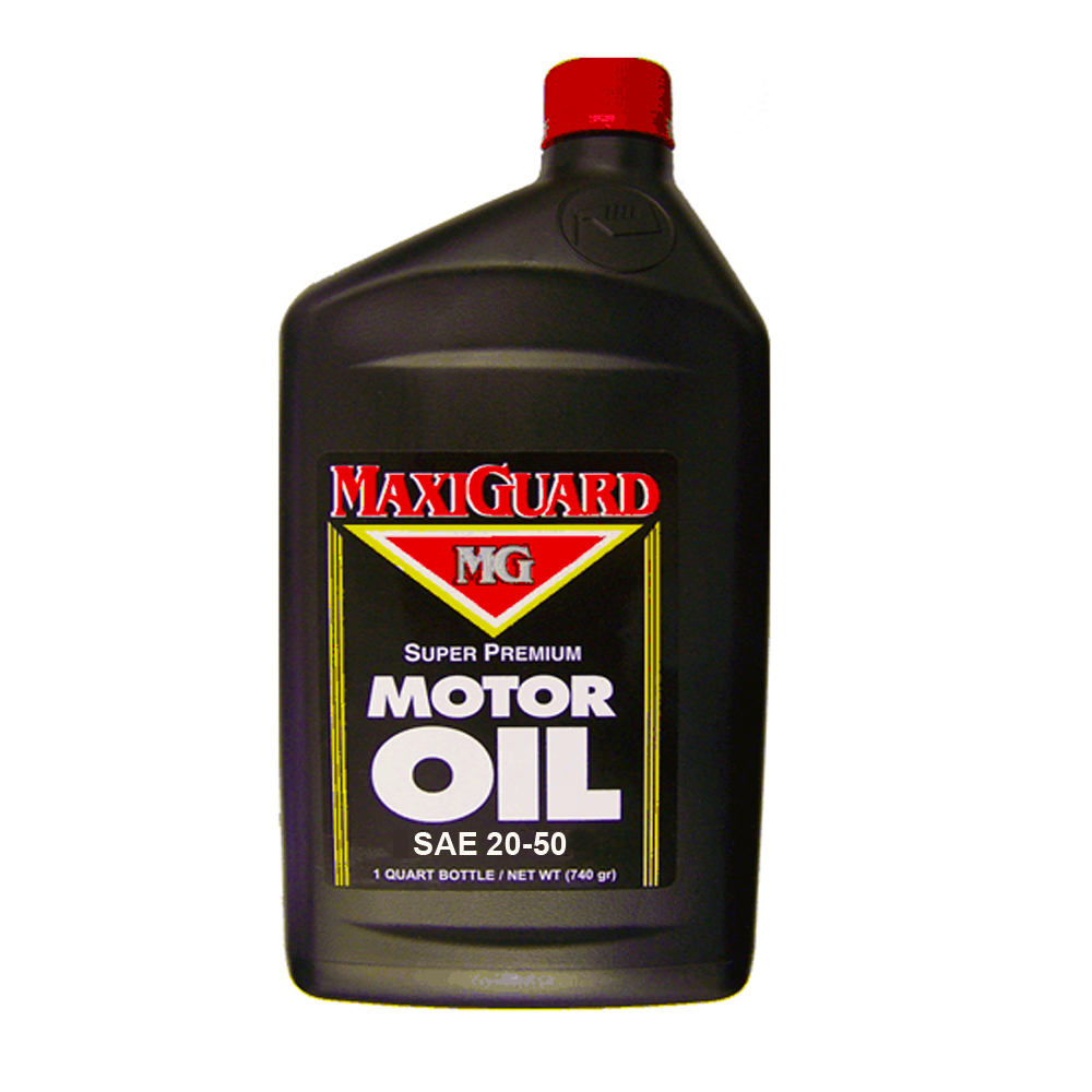 Mg Lube & Oil Llc 1qt Maxi Guard Sae20-50 Motor Oil Grade 50 MAXI50