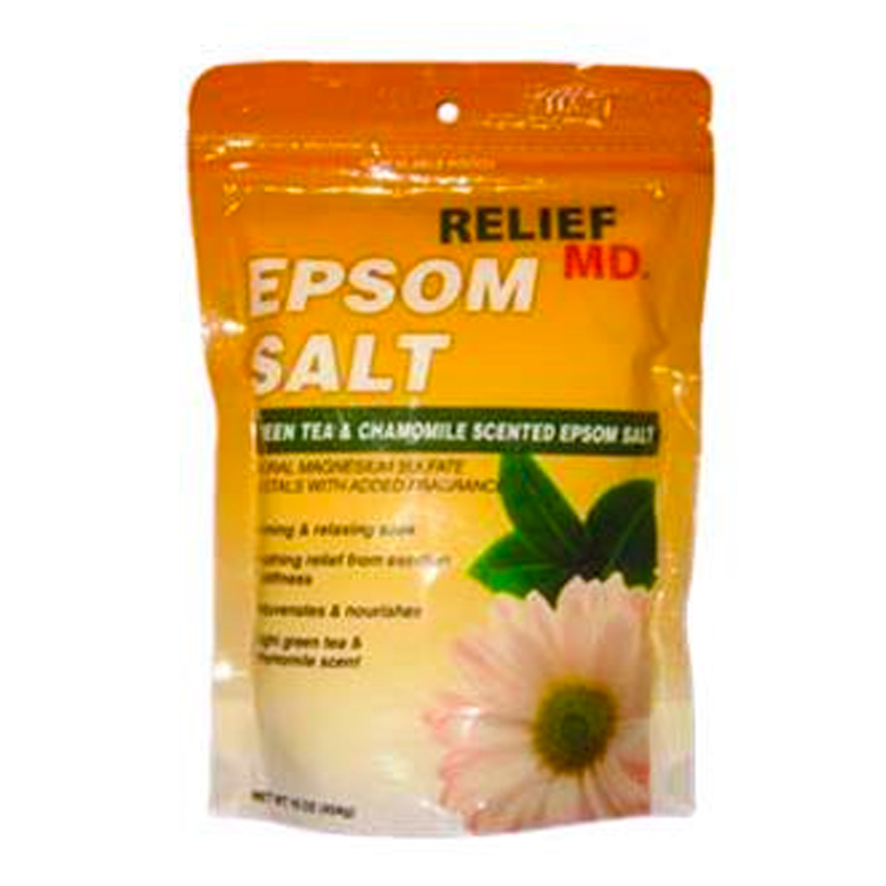 Blue Cross Labs 16oz Relief MD Relief Green Tea   And Chamomile Scented Epsom Salt Soak 966-9