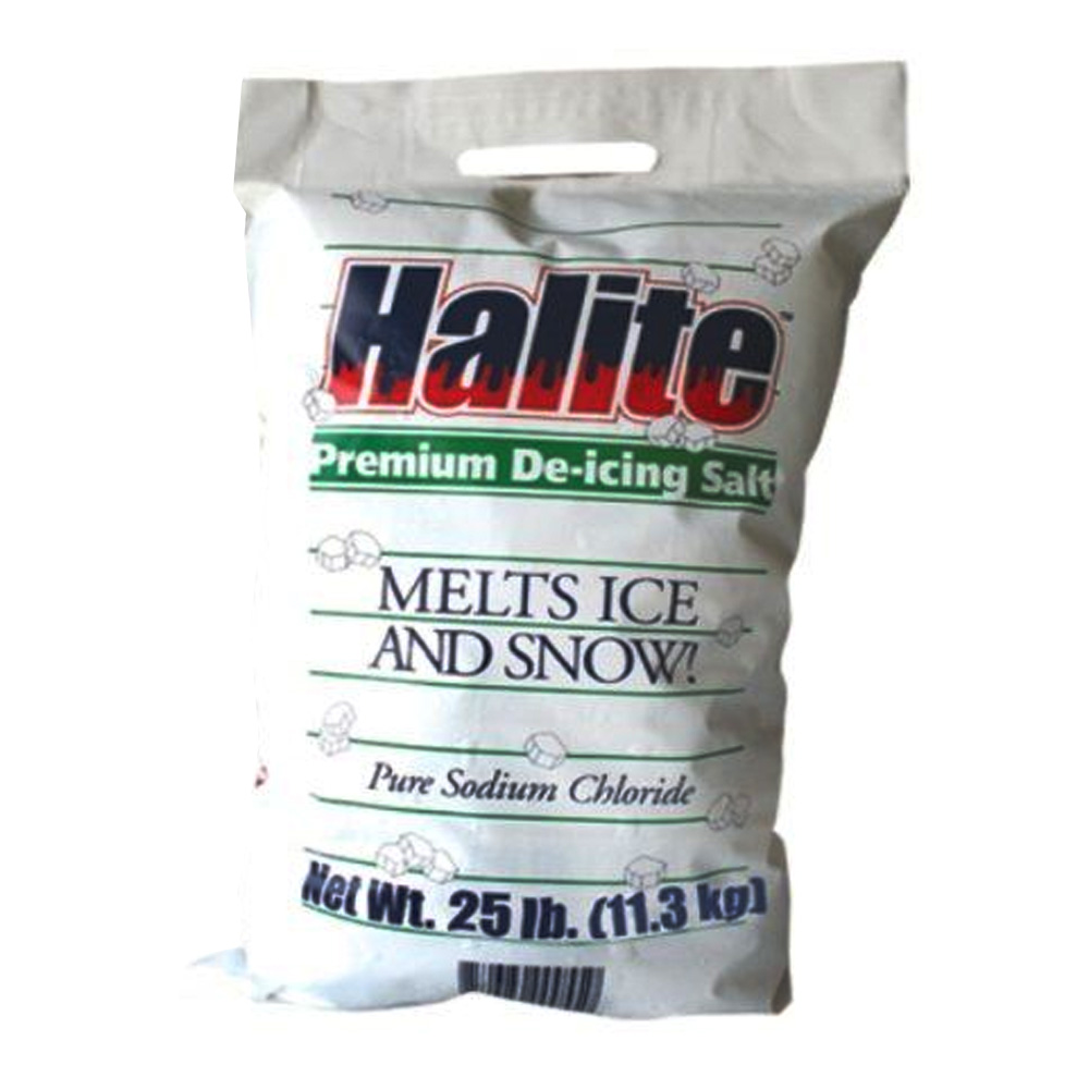 Dart Seasonal 25lb Bag Halite Premium De-Icing Rock Salt RS25