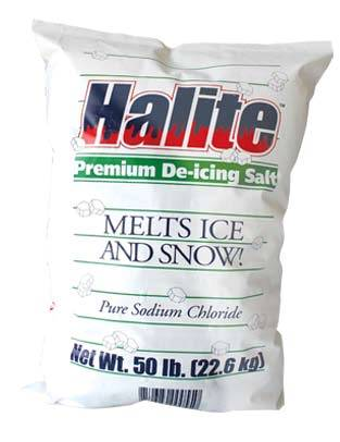 Dart Seasonal 50lb Halite Premium De-Icing Ice    Melt Rock Salt RS50/85515755