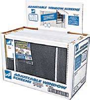 "10""x16-25"" Adjustable Window Screen GS1025"