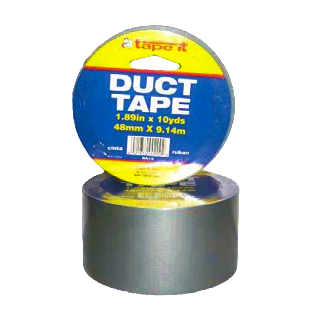 "Tape it Silver 2"" 10 Yard Duct Tape DA-10"