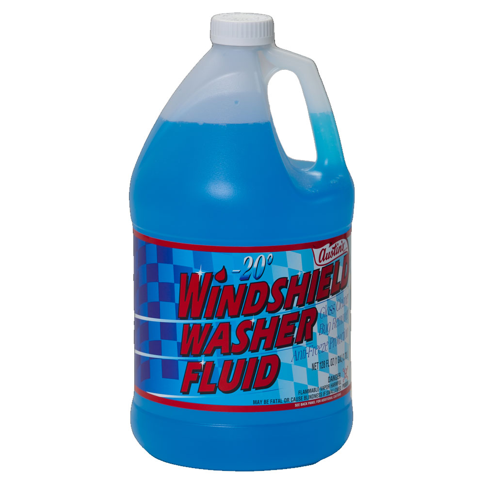 James Austin Blue 1 Gallon Winter Formula Liquid  Windshield Washer Fluid 54200-00080