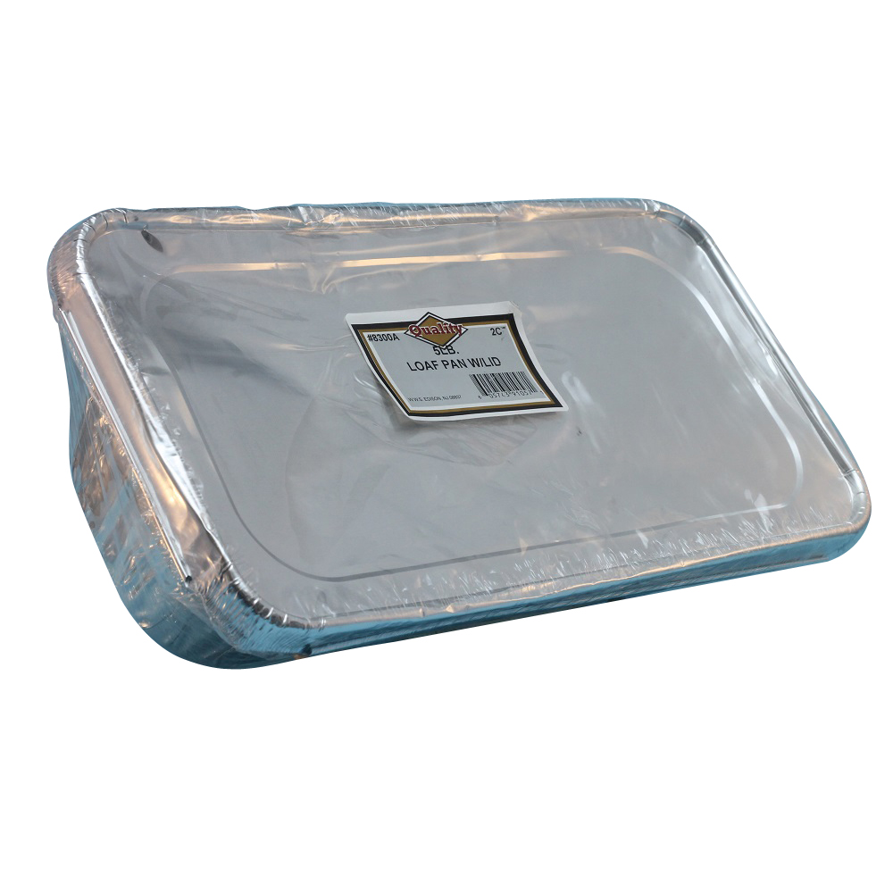 Convenience Packs Aluminum 1/3 Size Pan With Foil Lid 8300A